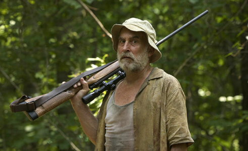 "Jeffrey DeMunn in AMC's ""The Walking Dead."" DeMunn stars as Willy Lowman in Arthur Miller's Pulitzer Prize-winning play, Death of a Salesman, Jan. 22 - Feb. 27, 2011 at The Old Globe. Photo by Scott Garfield/AMC."